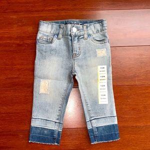 Cat & Jack Toddler Girls' Skinny Jean, 12M